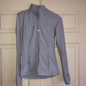 Light blue / purple lululemon zip up